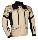 Textilní bunda CAMU písková/maskáč - 56
